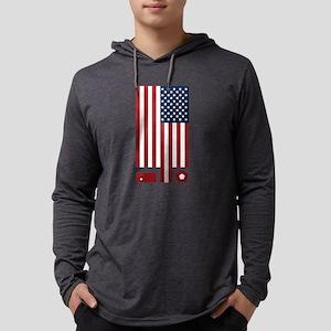 American Flag September 11 Tri Long Sleeve T-Shirt