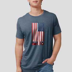 American Flag September 11 Tribute T-Shirt