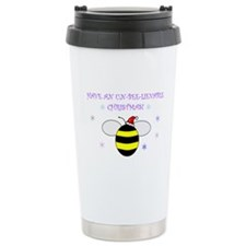 Un-bee-lievable Christmas! Stainless Steel Travel