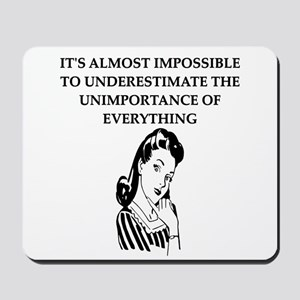 universal truth design Mousepad