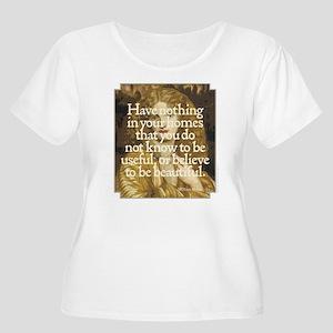 Morris Motto Women's Plus Size Scoop Neck T-Shirt