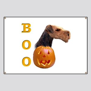Airedale Boo Banner