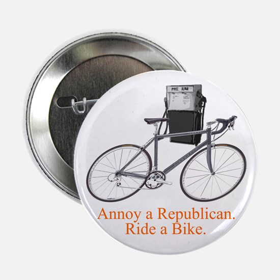Annoy a Republican. Ride A Bi Button
