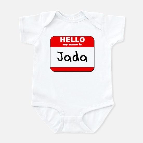 Hello my name is Jada Infant Bodysuit