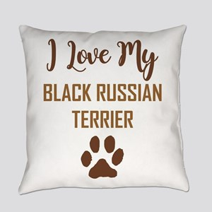 I LOVE MY DOG! Everyday Pillow