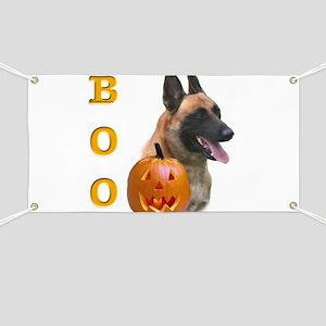 Malinois Boo Banner