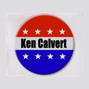 Ken Calvert Throw Blanket