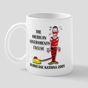 Hurricane Katrina Red Tape Mug