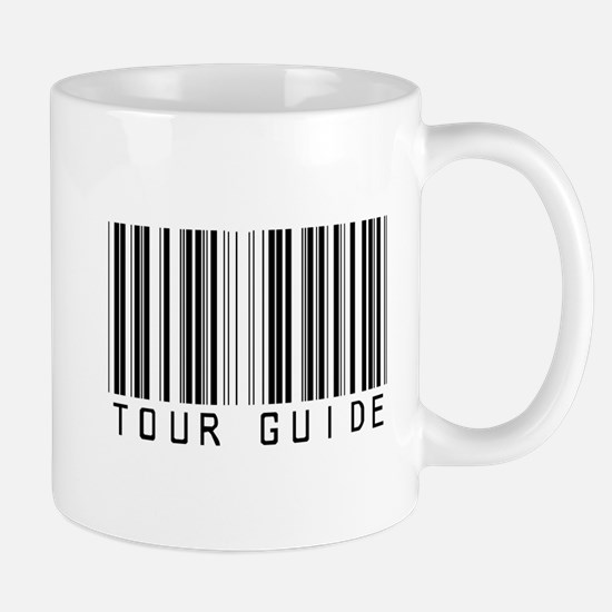Tour Guide Bar Code Mug