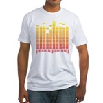 Equalizer Fitted T-Shirt