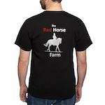 Dark T-Shirt Mens Front And Back