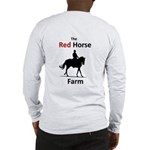 Long Sleeve T-Shirt Front And Back