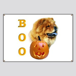 Chow Chow Boo Banner