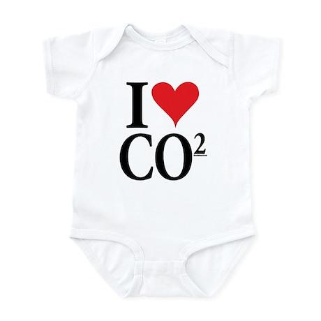 I Love co2 Infant Bodysuit