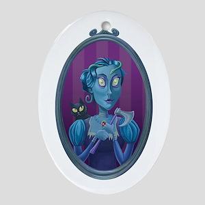 Lizzie Borden Oval Ornament