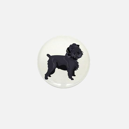 Cute Affenpinscher Mini Button