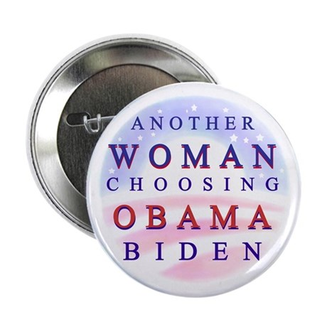 """Woman for Obama 2.25"""" Button (10 pack)"""