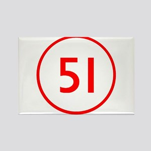 Emergency 51 Rectangle Magnet