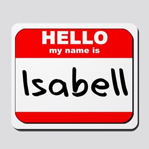 Hello my name is Isabell Mousepad