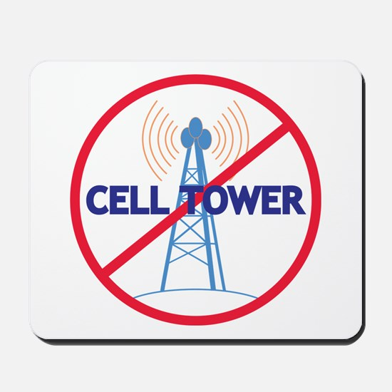 No Cell Tower Mousepad