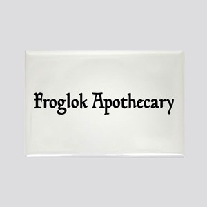 Froglok Apothecary Rectangle Magnet