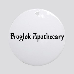 Froglok Apothecary Ornament (Round)