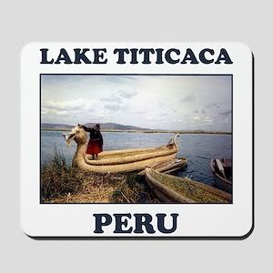 Lake Titicaca Mousepad