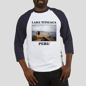 Lake Titicaca Baseball Jersey