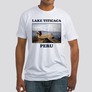 Lake Titicaca Fitted T-Shirt