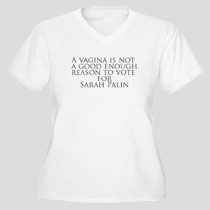 good enough reason Women's Plus Size V-Neck T-Shir