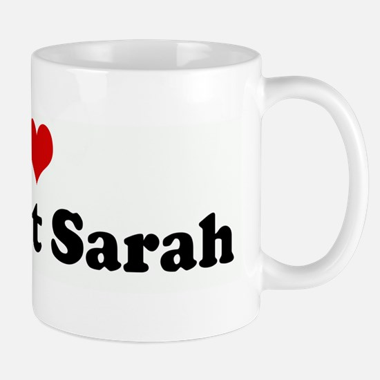 I Love my Aunt Sarah Mug