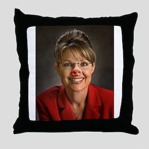Lipstick on a Pig 1 Throw Pillow
