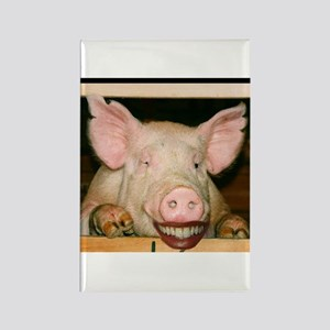 Lipstick on a Pig 2 Rectangle Magnet