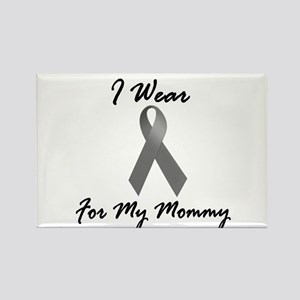 I Wear Grey For My Mommy 1 Rectangle Magnet