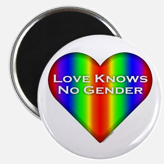 Love Knows No Gender Magnet