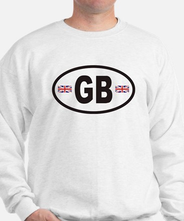 GB Great Britain Euro Style Sweatshirt
