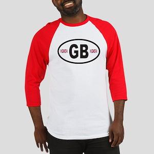 GB Great Britain Euro Style Baseball Jersey