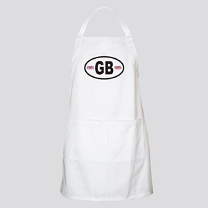 GB Great Britain Euro Style BBQ Apron