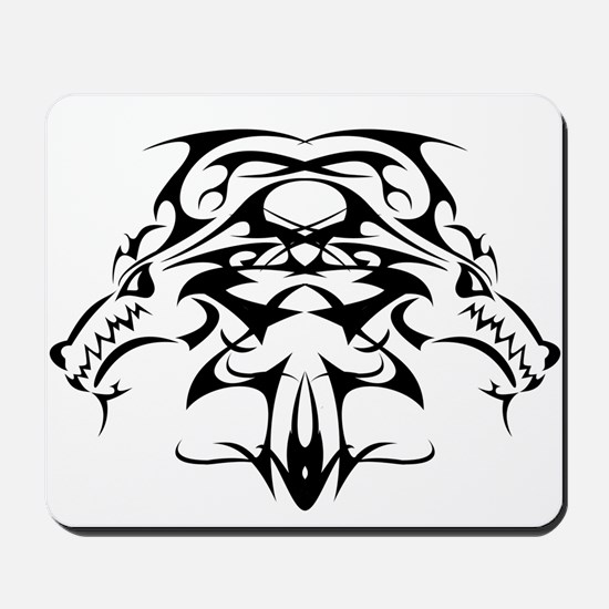 Double Dragon Crest Mousepad