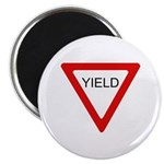 "Yield Sign - 2.25"" Magnet (100 pack)"