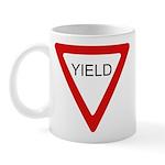 Yield Sign - Mug