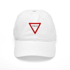 Yield Sign - Baseball Cap