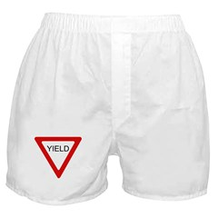 Yield Sign - Boxer Shorts