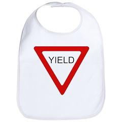 Yield Sign - Bib
