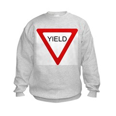Yield Sign - Sweatshirt