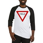 Yield Sign - Baseball Jersey