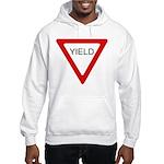 Yield Sign - Hooded Sweatshirt