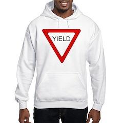 Yield Sign - Hoodie