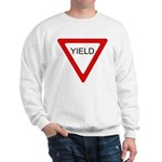 Yield Sign - Sweatshirt