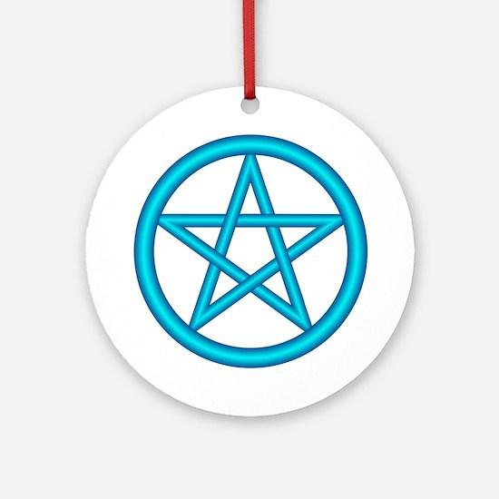 Water Element Pentagram Keepsake (Round)